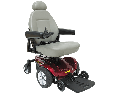 Pride Jazzy Select Mid Wheel Drive Powerchair