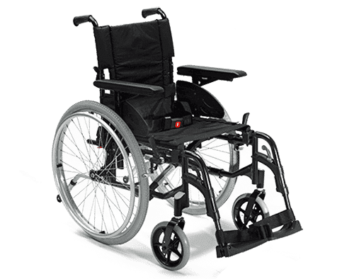 Basic Manual Wheelchair - available to hire from £11pw or buy from £145