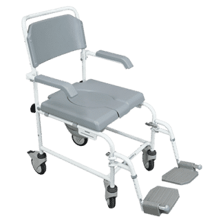 Aidapt Bewl Basic Shower Commode Chair