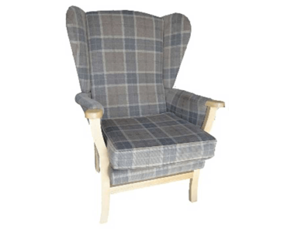 high back high seat chair is designed for those needing