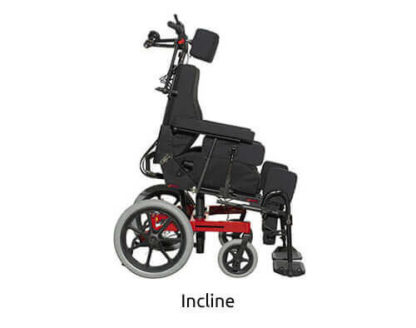 incline Function Tilt In Space Wheelchair